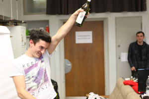 "Playing out scenarios with gestural prototypes - ""The Super Champagne Man"""